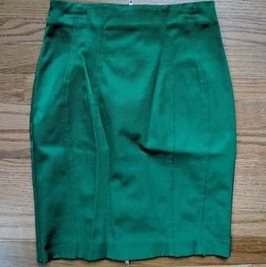 Zip Up Back Pencil Skirt